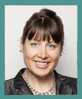 Sue Garber blue frame image
