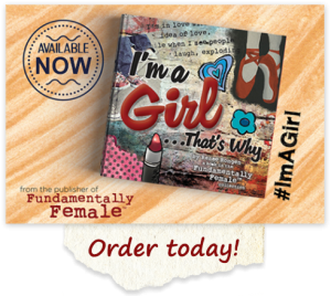 I'm a girl order today banner